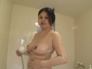 Chubby japanese milf gets sex toys and cock in her until creampie