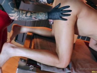 Miss Melisande Sin – stretching my slave – Anal Fisting
