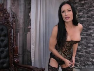 Online video femdom clubstiletto – miss jasmine – i know you're craving the taste
