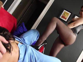 SweetFemdom – Chrissy Daniels, Lance Hart, Terra Mizu – Slap His Balls and Feed Him Cum [Strapon, Humiliation, Scissor, Face Sitting]