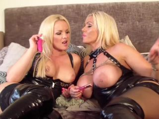 Contrast fetish ca... - FFF_ Lucy Zara vs Frankie Babe booted, bitch catfight - wmvt
