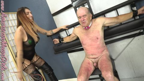 Princess Mia and Goddess Platinum starring in video (Come Relax In My Special Slave Chair) of (The Mean Girls) studio [FullHD 1080P]