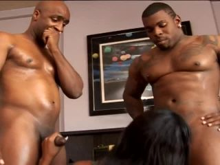 Betty Boo Pounded By Two Huge Black Guys