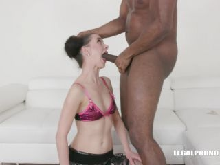 First anal first black cock for Lola Black IV299 / 02.04.2019