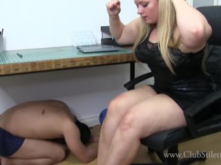 Porn online Clubstiletto - Princess Skylar - FemCorp Office Foot Bitch femdom