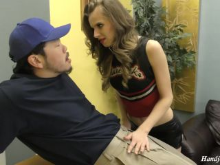 Women on Top of men presents Super Cheer Slut Jillian Janson Takes Control – Cheerleader Boss For Life!