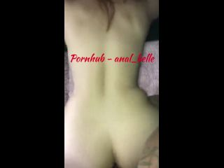 G10336 Plugging My Ass With Dick Anal Belle