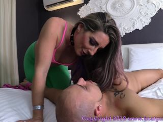 [Femdom 2018] Brat Princess 2  Savannah  Lick Up What My Yoga Teacher Left Behind after Our Work Out