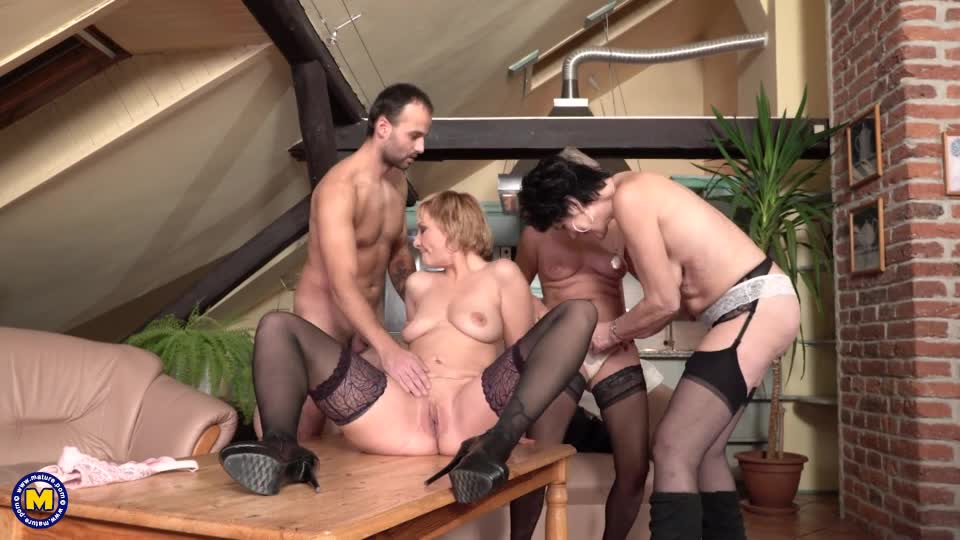 Belinda - Young Man Caught During Subtraction By 3 Older Ladies - k2s.tv