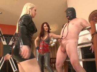 7659 Deanna and Lexi Ballbusting