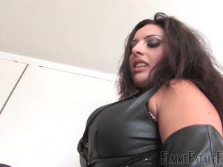 femdom manga bdsm porn | Femmefatalefilms: Mistress Ezada - Three Hundred | bootlicking