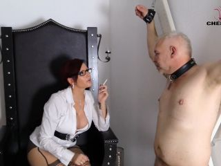 Clips4sale: Lady Cherie Noir - Bound Slave  - lady cherie noir - femdom porn one piece femdom
