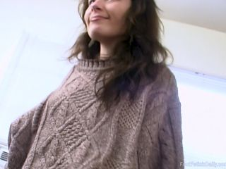Footfetishdaily.com- Delia Masturbation and Feet Admiration
