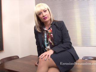 Eurasian Persuasion - Miss Jasmine - Breathless Chef Panty Hose - miss jasmine on fetish porn