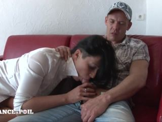 Savannah - Amateur couple from Belgium came to try Double penetration ...