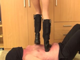 Trampling and dancing in boots!