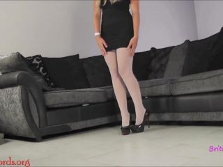 Foot JOI – British Bratz – Chloe's Stockings JOI