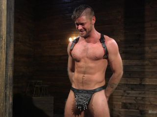 femdom for beginners femdom porn | Submissive Stud Jack Andy Bound in Rope and Fucked in the Ass | slave