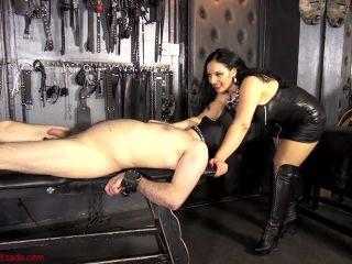 Porn online Mistress Ezada Sinn – Trained to be a human cushion femdom