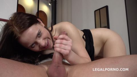 Nikki Hill - Mr. Anderson Anal Casting with Nikki Hill Balls Deep Anal, Gapes, Cum in mouth (720p)