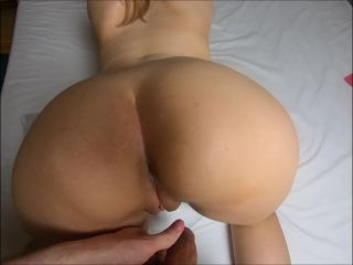 MaryCandy - Fuck Sweet Teen with Tight Ass - Cum on Asshole POV