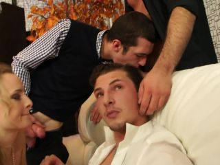 Bisexual Group Gangbang With White Men And Women