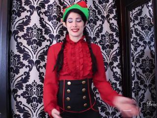 Brookelynne Briar - Stroke To Save Christmas - brookelynne briar - femdom porn christmas femdom