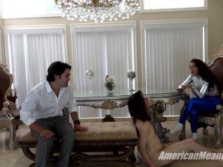 gay leather fetish The Mean Girls - Princess Carmela - Facesitting Engagement (1080 HD), handchoking on fetish porn