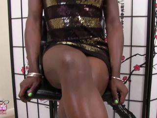 Online shemale video Kandie Barbie Takes It Off