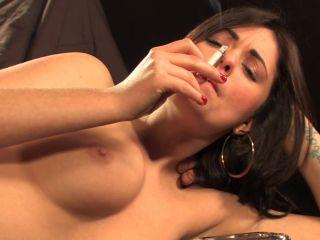 Movie title Ava Dalush All White Smoking Sex Part2