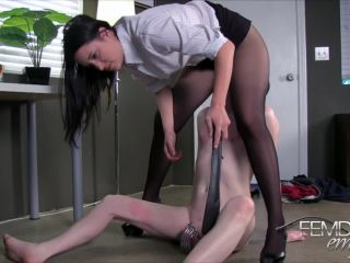 FemdomEmpire presents Kimberly Kane in Office Chastity Bitch