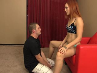 violent chicks  jolene hexx  painful foot slapping  foot domination