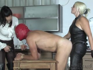 Strapon – FemmeFataleFilms – Roasted – Part 3 – Lady Mephista and Mistress Heather