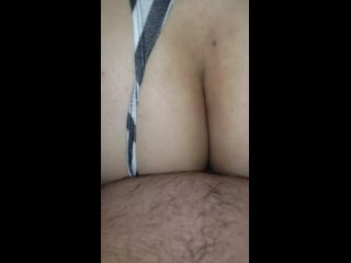 love getting my victoria secret thong pulled to the side and getting fucked