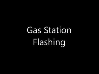 ManyVids presents TianaLive in hollyhotwife — Gas Station Flashing