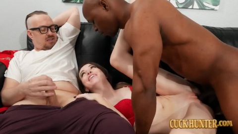 Brooke Johnson - Cuck Likes Seeing Big Black Dick in his Teen Girlfriend [HD 720P]