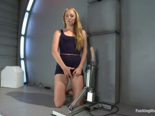 Kink.com- Sending the Ginger Girl into Cum Space with The Fucking Machines-- Ami Emerson