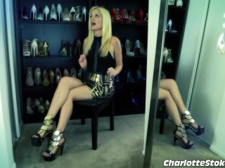 Shoes – Charlotte Stokely – Foot Licker Im Home