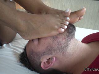 Foot+worship – BFF Videos – Worship Black Goddess Danndara Sweaty Feet Pt.2