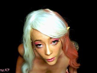 Teen elf ahegao JOI anal and facial