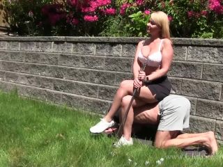 Foot humiliation – Mistress Kandy – Ready 'Fore' Some Trampling