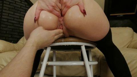Dismoralica - Dismoralica anal fist untill my ass prolapsed (1080p)