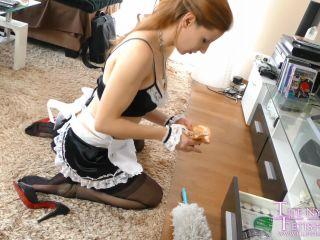 handjob - The Nylon Leg Fetish Store presents Maid Lurina steal Money from her Boss HD – 04.05.2019 (Premium user request)