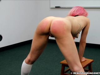 cigar fetish Real Spankings Institute – A Strapping with the Belt for Kiki, fetish on fetish porn