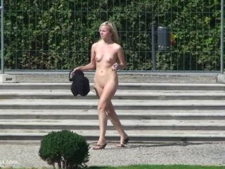 Naked girls on the public, exhibitionism and flashing