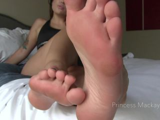 Toes – Princess Mackayla – Devoted to Foot Worship