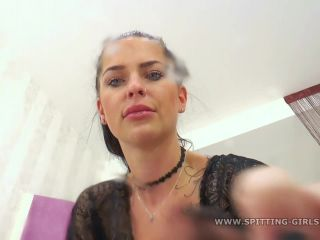 Spit 1902 Lady Liana spits in your face