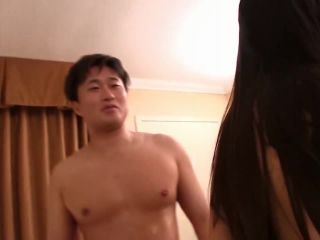 She got pissed when the asian guy cum inside her