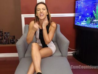 Online video femdom cum countdown – goddess morgan – expecting fun with yourself?