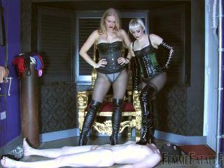 Smothering – FemmeFataleFilms – Trodden – Complete Film – Goddess Dommelia and Mistress Petite
